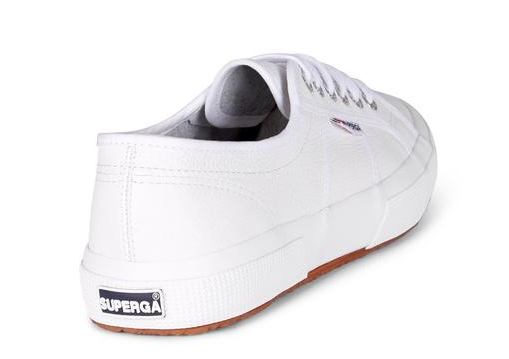 Superga 2750 Cotu Leather Sneaker in White