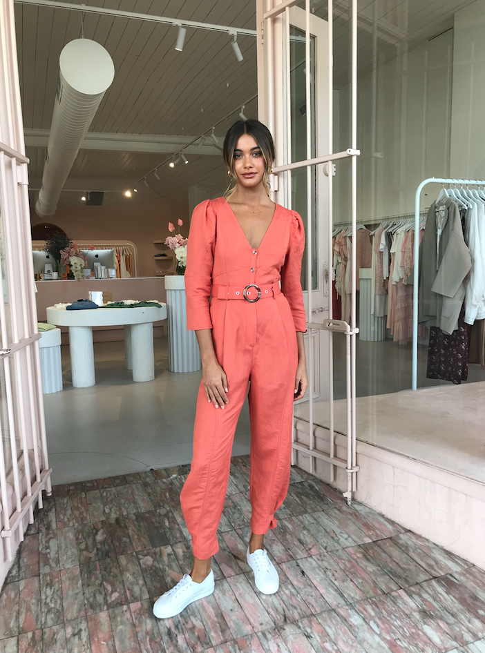 Steele Rosemoor Jumpsuit in Poppy