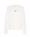 Camilla and Marc Dunning Crew Jumper in White