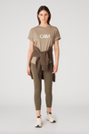 Camilla and Marc Huntington Tee in Sage