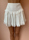Carver Astrid Skirt in White