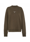 Camilla and Marc Dunning Crew Jumper in Khaki