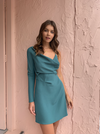 One Fell Swoop Daze Mini Dress in Deep Mint
