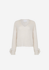 Viktoria and Woods Unity Tie Knit in Ivory Marl