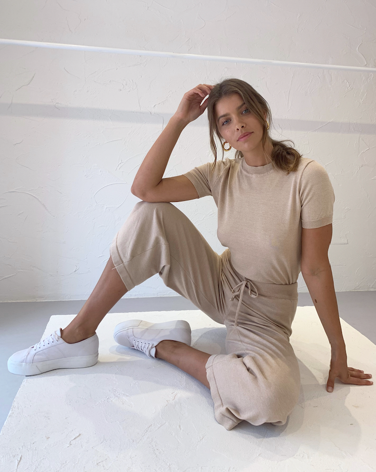Third Form Lounge Knit Set in Natural