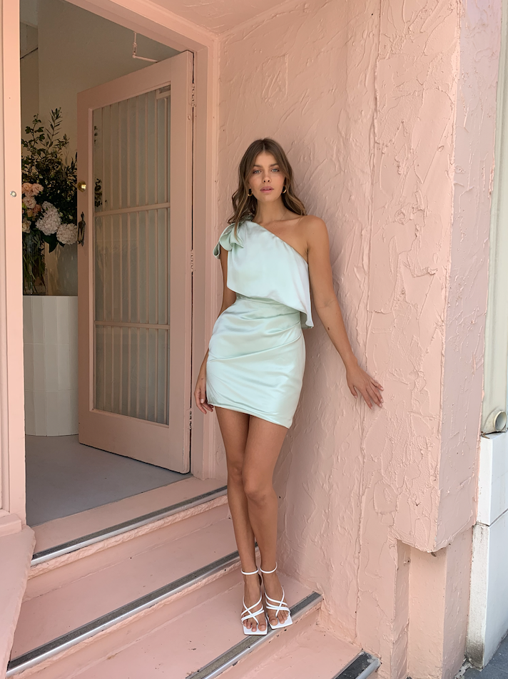 Significant Other Azure Dress in Mint