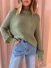 Bec & Bridge Elsa Knit Jumper in Sage