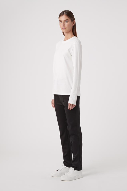 Camilla and Marc Zora L/S Tee in White