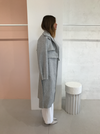 Camilla and Marc Vermont Coat in Grey Melange