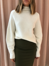 SIR Franca Raglan Sweater in Ivory