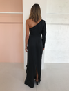 One Fell Swoop Scarlet Maxi Dress in Black