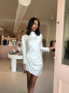 Carver Anabele L/S Dress in Oyster