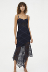 Manning Cartell Parlour Games Balconette Dress in Navy