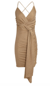 Significant Other Deia Dress in Gold