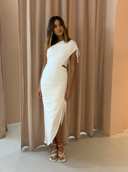 Significant Other Sirene Dress in Ivory