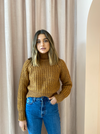 Third Form Own Beat Chunky Turtleneck in Nutmeg