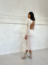 Shona Joy Bias Backless Dress in Marcel