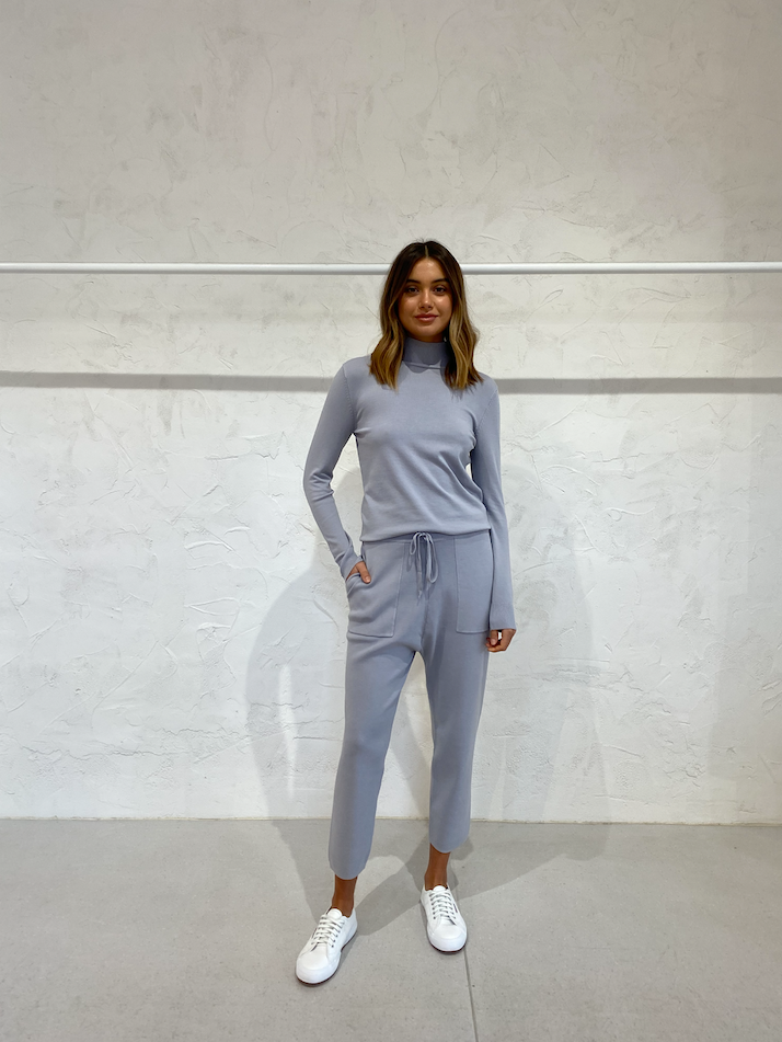 Third Form Fine Days Knit Turtleneck in Grey