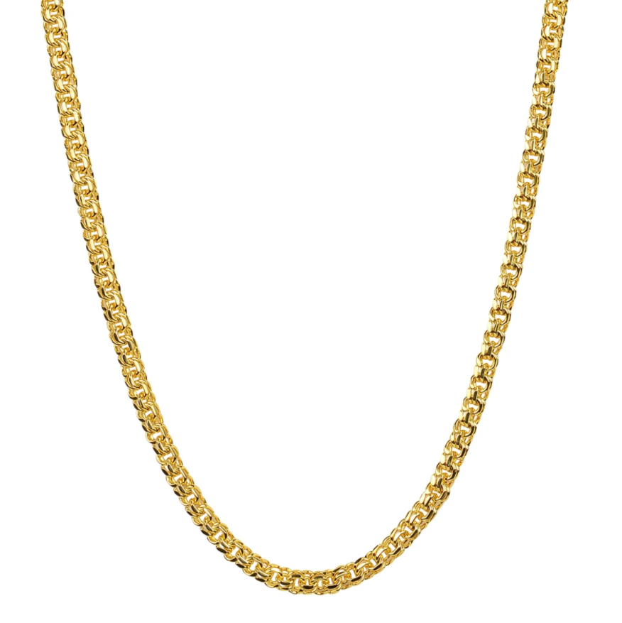 Brie Leon Fornida Chain Necklace in Gold