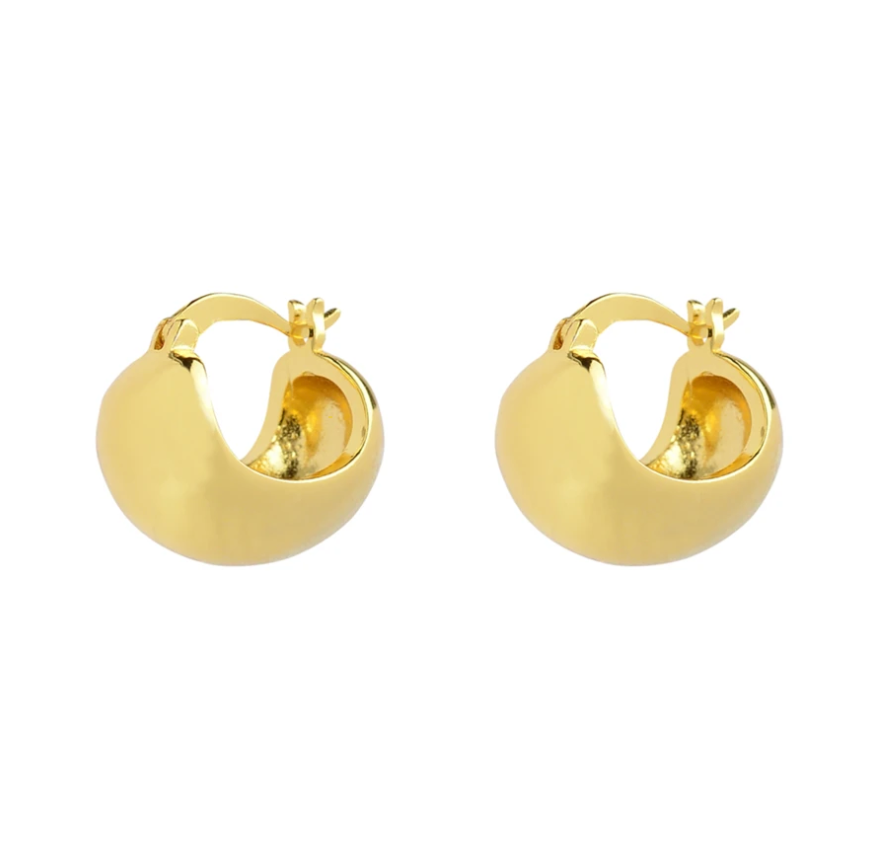 Brie Leon Sienna Earrings in Gold