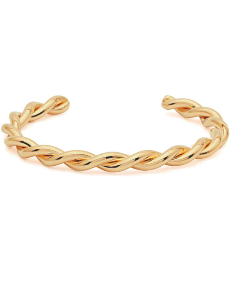 Amber Sceats Myja Bracelet in Gold