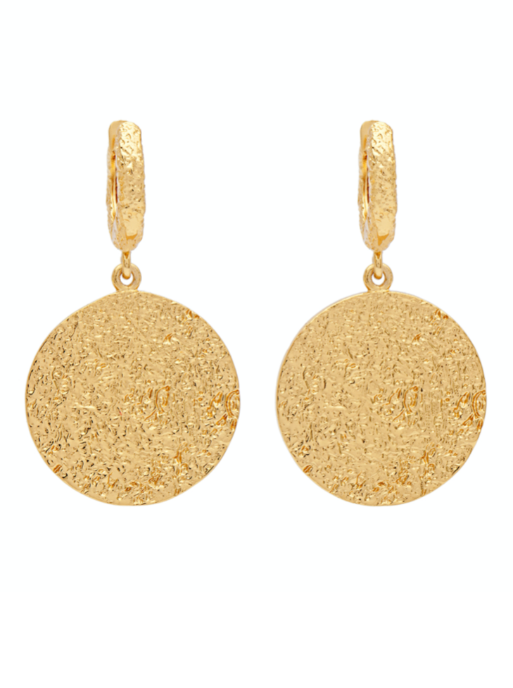 Amber Sceats Hayley Earrings in Gold