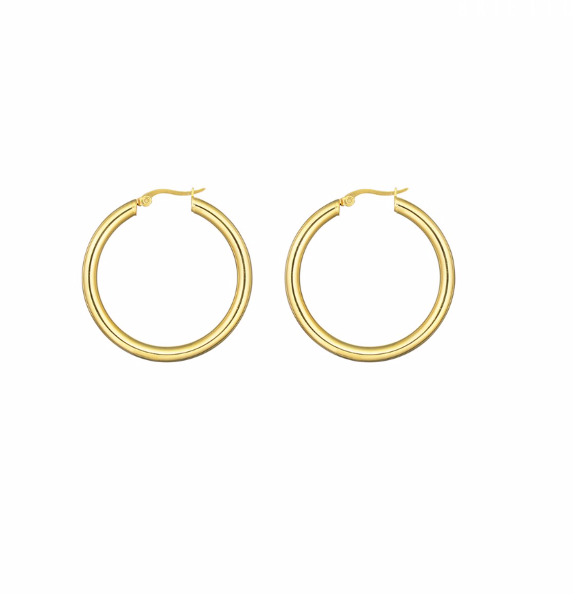 Brie Leon Mini My Hoops in Gold
