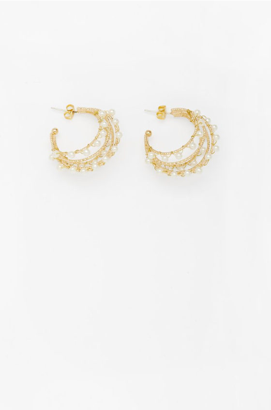 Reliquia Teneille Earrings in Gold