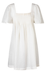 Steele Denisa Dress in Blanc