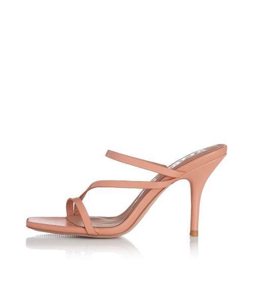 Alias Mae Mollie Heel in Peach Leather