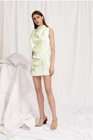 Acler Jasper Dress in Mint