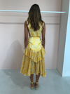 Acler Grosvenor Dress in Lemon Floral