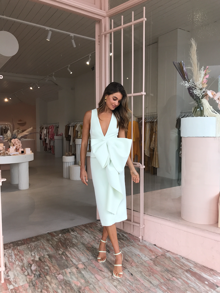 Acler Mancroft Dress in Mint