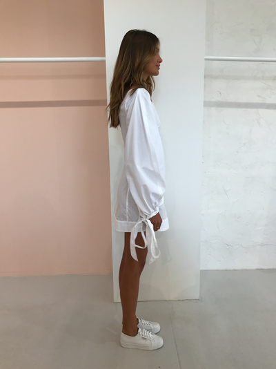 Camilla and Marc Janssen Mini Dress in White