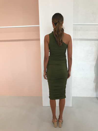 Significant Other Orion Dress in Khaki