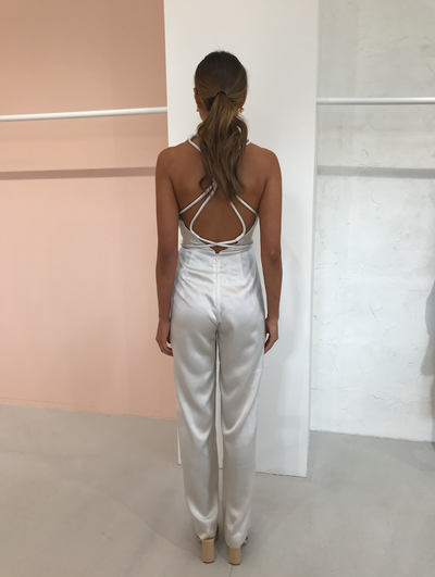 Significant Other Lucine Pantsuit in Cream