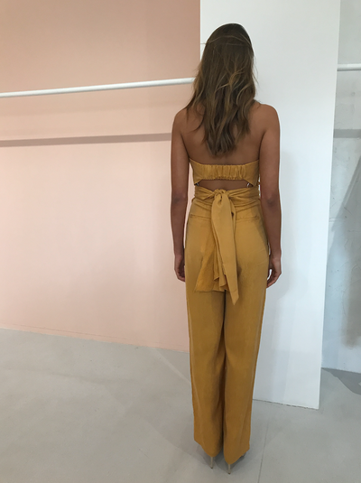 Significant Other Hamilton Pantsuit in Sunflower
