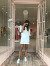 SIR Alena Mini Dress in Ivory