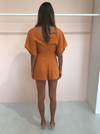 One Fell Swoop Provence Playsuit in Marigold