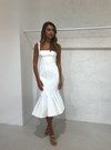 Acler Mawson Dress in Ivory
