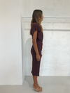Acler Karline Dress in Port