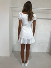 Significant Other Symphony Dress in White
