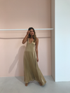 Magali Pascal Sakura Maxi Dress in Gold