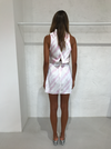 Issy Promises Dress in Pink Tie Dye