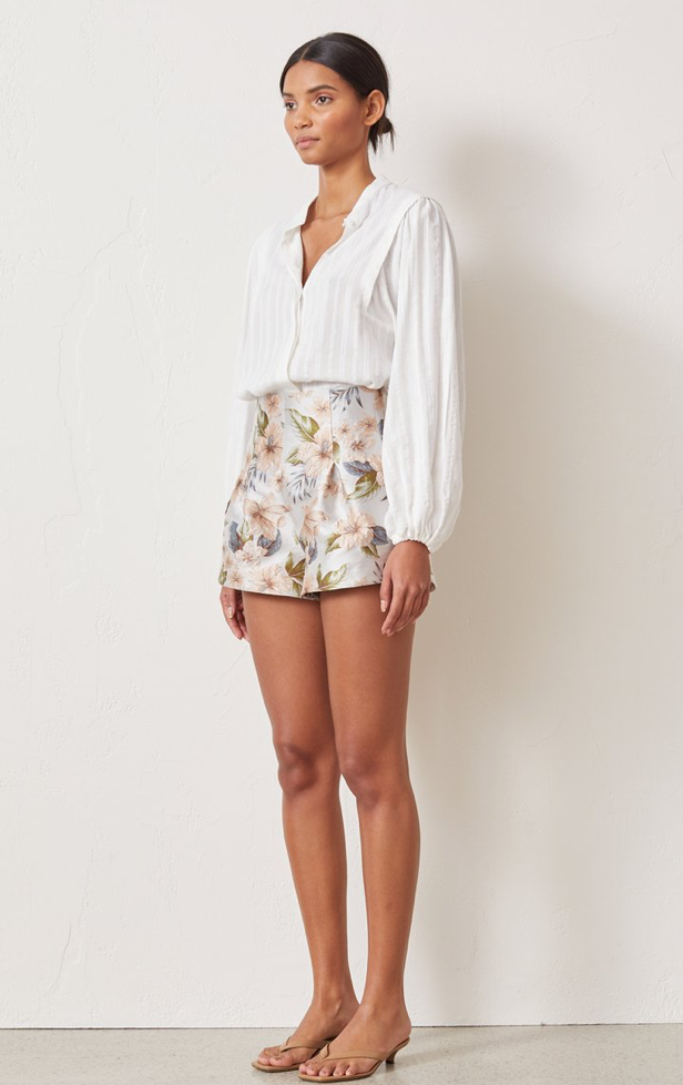 Bec & Bridge Fleurette Jacquard Short in Print