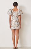 Bec & Bridge Fleurette Jacquard V Dress in Print
