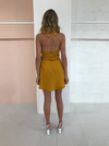 Carver Lua Dress in Mustard