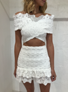 Carver Francois Skirt in White