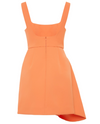 Acler Clarke Dress in Papaya