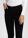 Nobody Cult Skinny Ankle Jean in PowerBlk